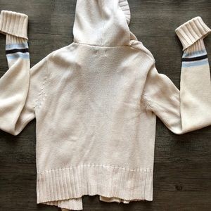 Arizona Jean Company Sweaters - Arizona Cream Hooded Cardigan
